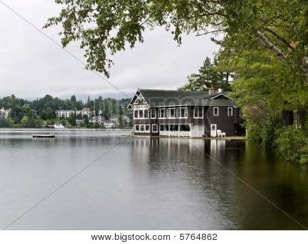 House In The Lake