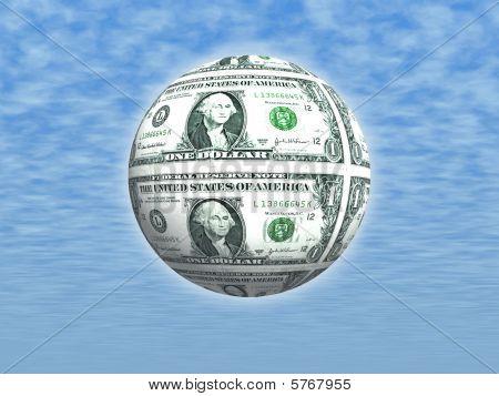 American One Dollar Bill