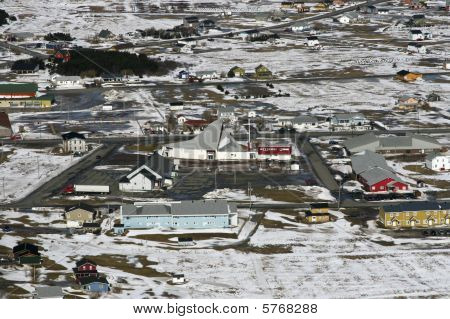 Town In The Canadian Arctic