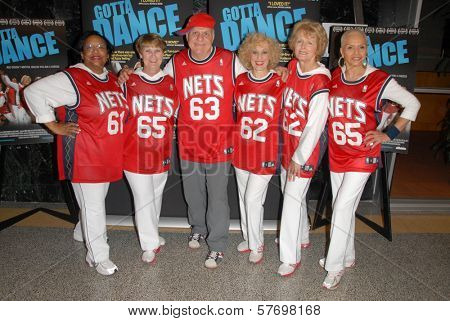 Cast of 'Gotta Dance' at the Los Angeles Premiere of 'Gotta Dance'. Linwood Dunn Theatre, Hollywood, CA. 08-13-09