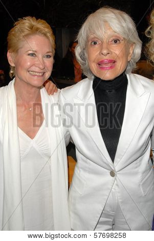 Dee Wallace Stone and Carol Channing at the Los Angeles Premiere of 'Gotta Dance'. Linwood Dunn Theatre, Hollywood, CA. 08-13-09