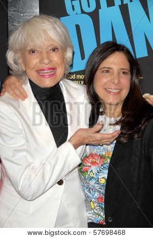 Carol Channing and Dori Berinstein  at the Los Angeles Premiere of 'Gotta Dance'. Linwood Dunn Theatre, Hollywood, CA. 08-13-09