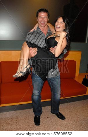 Roland Kickinger and Romi Dames at the Los Angeles Premiere of 'Gotta Dance'. Linwood Dunn Theatre, Hollywood, CA. 08-13-09