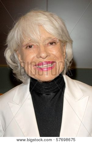 Carol Channing  at the Los Angeles Premiere of 'Gotta Dance'. Linwood Dunn Theatre, Hollywood, CA. 08-13-09