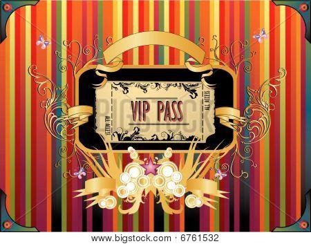 ticket vector illustration