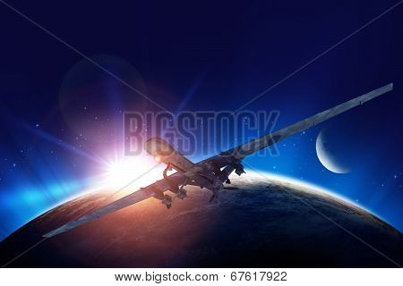 Dron Mission Illustration