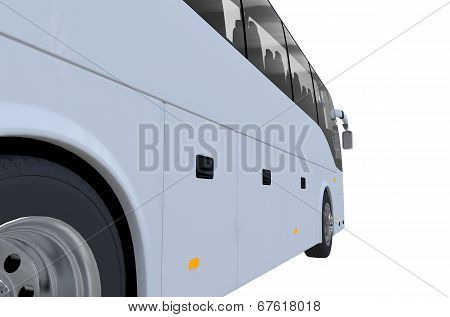 Bus Closeup Side View