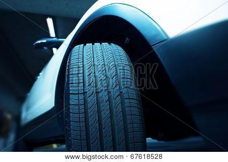 New Car Tire