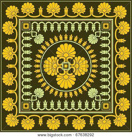 grek floral ornament