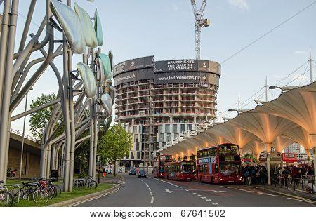 Stratford Bus Station, London