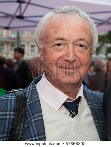 MOSCOW - JUNE, 19: Writer Lyon Izmailov, 36th Moscow International Film Festival. Opening Ceremony at Pushkinsky Cinema . June 19, 2014 in Moscow, Russia