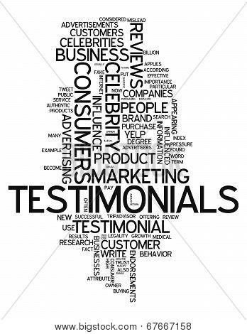 Word Cloud Testimonials
