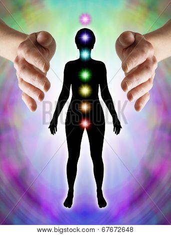 Sending Distant Healing to Chakras
