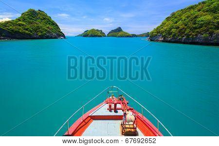 Boad To Angthong Island, Koh Samui, Thailand