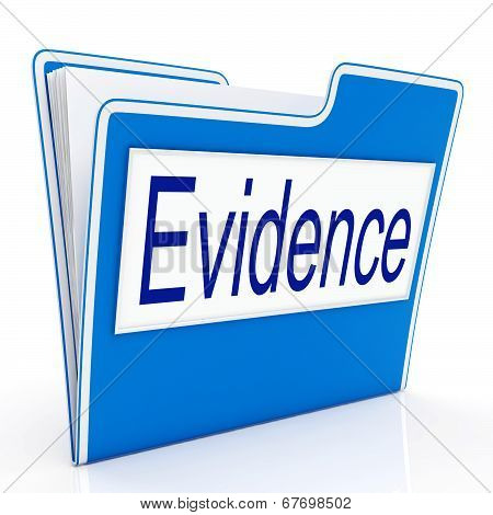 Evidence File Showing Evidential Truth And Files poster