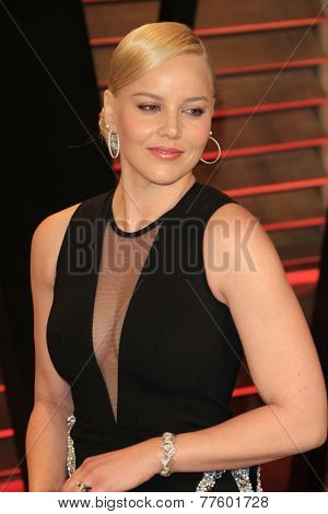 LOS ANGELES - MAR 2:  Abbie Cornish at the 2014 Vanity Fair Oscar Party at the Sunset Boulevard on March 2, 2014 in West Hollywood, CA