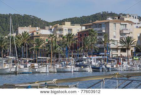 Entering Port Andratx Marina From Sea
