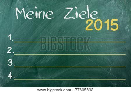 2015 Goals ,german