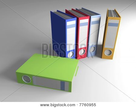 Colored Folders