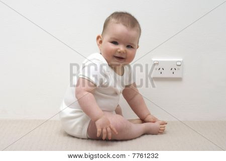 Baby With Australian Power Point