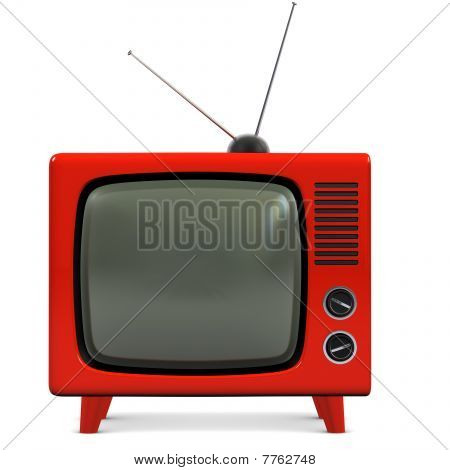 Retro Plastic Tv