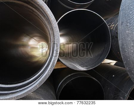 Stack Of Pipe