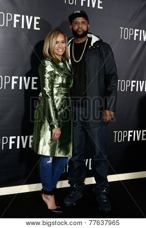 NEW YORK-DEC 3: Professional baseball player CC Sabathia (R) and wife Amber Sabathia attend the