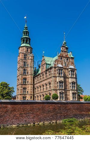 Rosenborg Castle - build by King Christian IV in Copenhagen Denmark poster
