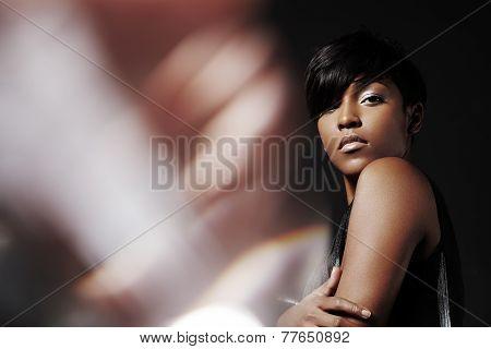 Portrait Of A Beuty Woman