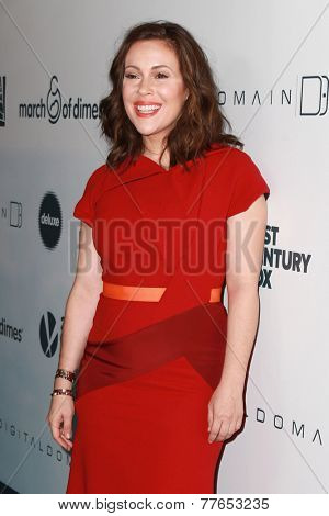 LOS ANGELES - DEC 5:  Alyssa Milano at the March Of Dimes' Celebration Of Babies at the Beverly Wilshire Hotel on December 5, 2014 in Beverly Hills, CA