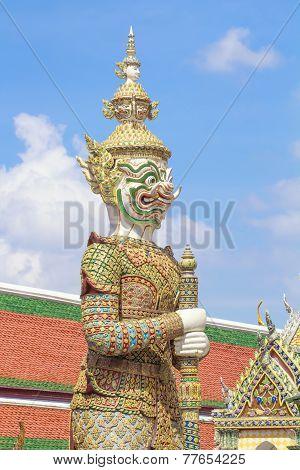 Giant in Wat Phra Kaew Thailand