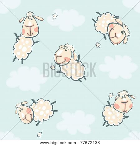 blue wallpaper with rams