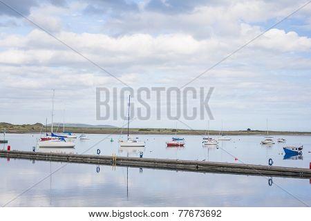 Yachts At Marina