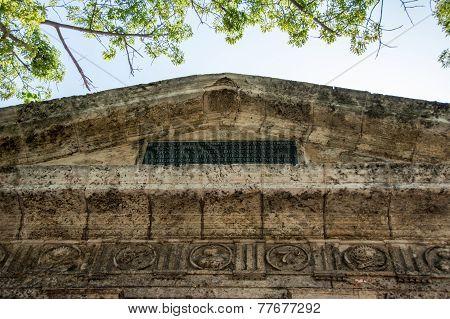Detail Of El Templete In Old Havana,cuiba