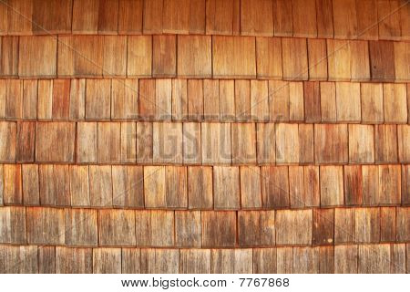 Red Tinted Wooden Tiles