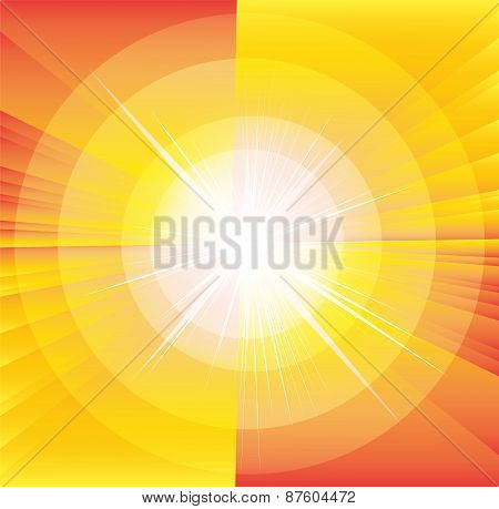 Sunlight Vector illustration