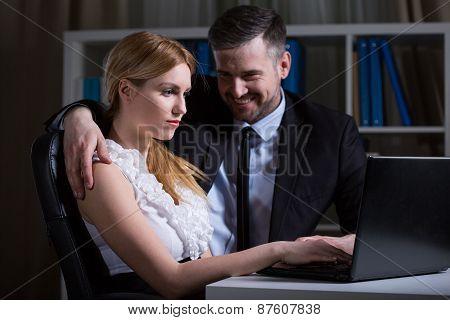 Romance With Older Boss