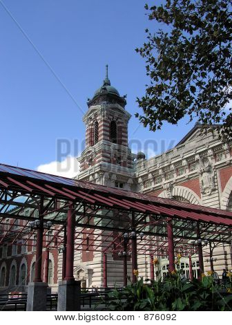 Ellis Island Building