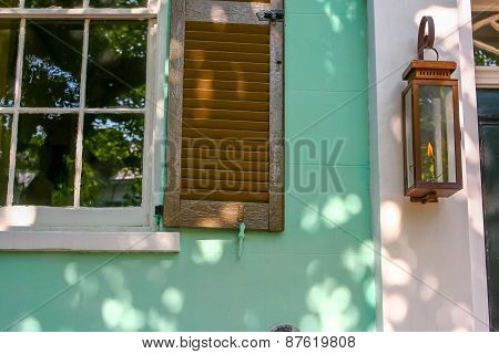 Shutters, Windows, and Gaslight - Charleston, South Carolina