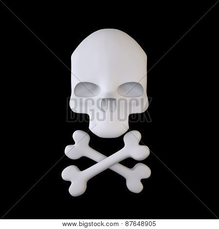Jolly Roger (Crossbones Sign)