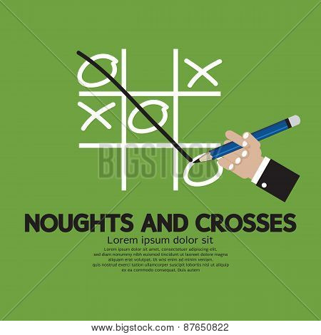Noughts And Crosses.