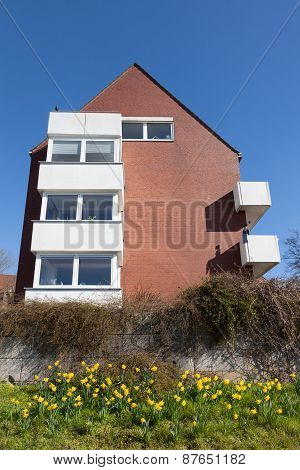 Red Brick Residential House