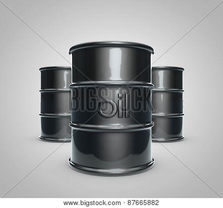 Oil Barrel Set 2