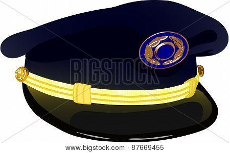 Pilots Service Cap