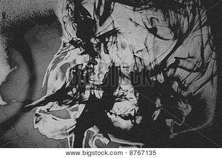 Abstract Graffiti Grunge Background