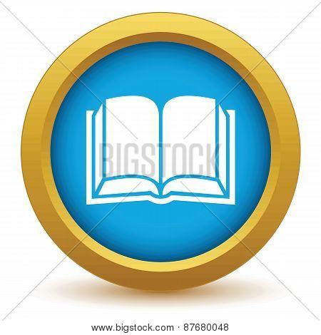 Gold book icon