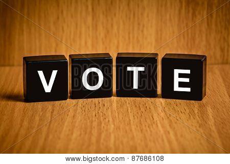 Vote Word On Black Block