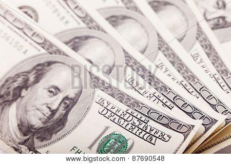 Shooting money closeup with macro lens