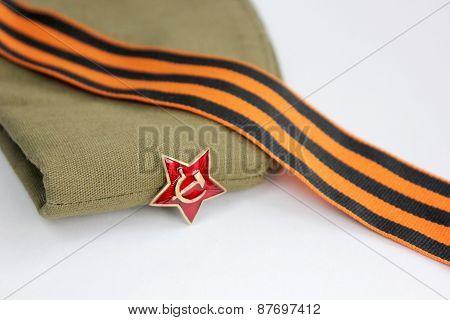 Red Army Man's Garrison Cap