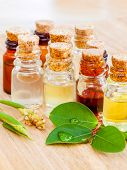 Spa Essential Oil - Natural Spas Ingredients for aroma aromatherapy. poster